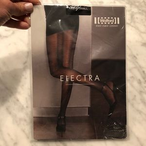 Accessories - Wolford Electra Tights (Black w/ gold) size XS
